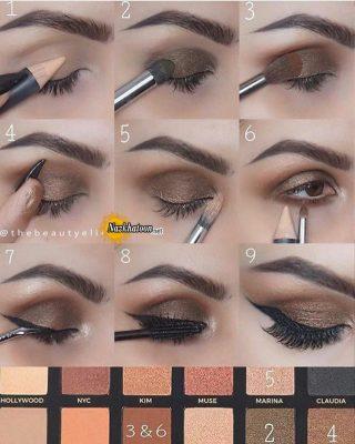 آرایش چشم – ۴۵۷