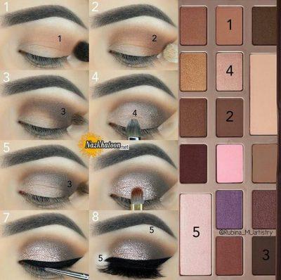 آرایش چشم – ۴۵۰