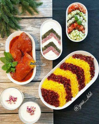 عکس خوشمزه غذاهای ایرانی