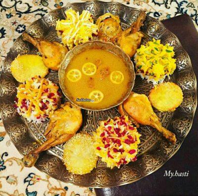 غذاهای خوشمزه و خوش رنگ ایرانی