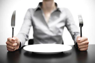 گرسنگی در طول رژیم غذایی