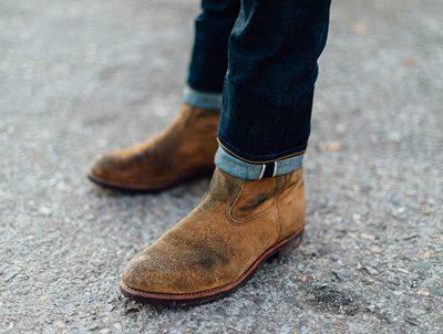 آموزش تمیز کردن کفش های جیر