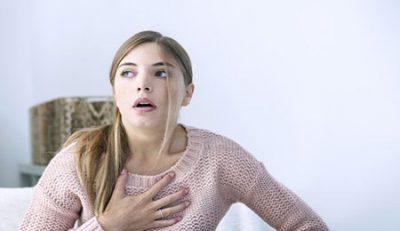 درمان تنگی نفس در بارداری