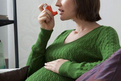 آسم در زنان باردار