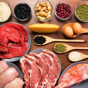 فایده رژیمهای غذایی با محتوای بالای پروتئین