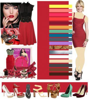 نکاتی برای ست کردن لباس با رنگ قرمز