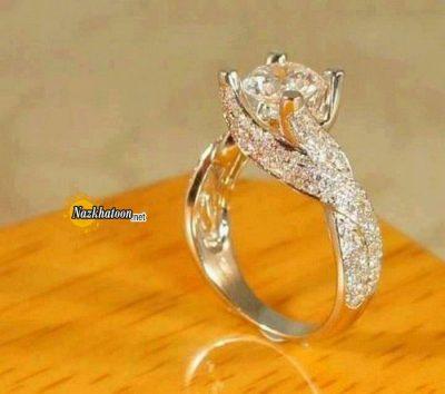 مدل انگشتر طلای بزرگ