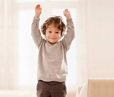 چند  تمرین کاردرمانی برای کودکان بیش فعال