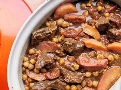 آموزش پخت طاجین گوشت و به مراکشی