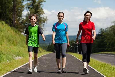 تاثیرات پیاده روی تناسب اندام