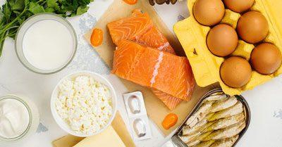 چند ماده غذایی برای کمک به افزایش ویتامین D بدن